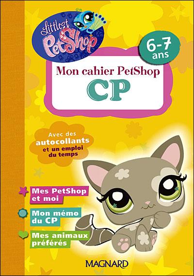 Mon cahier PetShop CP