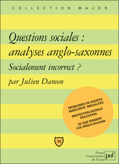 Questions sociales, analyses anglo-saxonnes : socialement incorrect ?