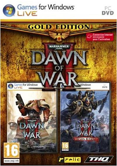 - SubTitle Contient le jeu Dawn of War 2 ainsi que son extension Chaos Rising - Editeur THQ - Public