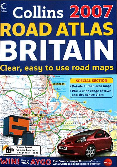 Road atlas Britain