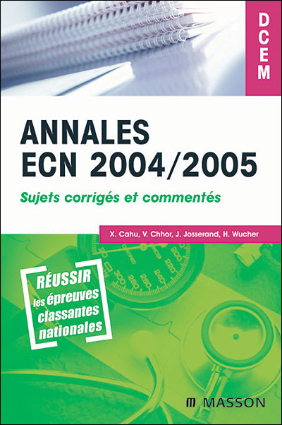 Annales ECN 2004/2005