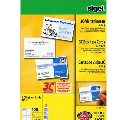 Sigel Business Card 3C LP795