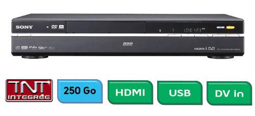 Enregistreur dvd de salon avec disque dur sony - Graveur dvd de salon ...
