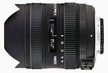 Objectif reflex Sigma DC HSM 8 16 mm f45 56 Monture Canon