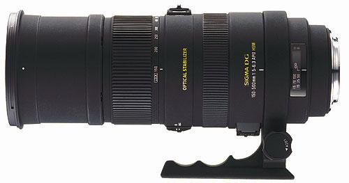 Objectif 150-500 mm F/5-6.3 DG APO OS HSM pour Canon