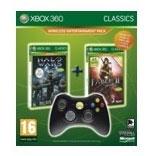 Fable 2 Halo Wars manette sans fil noire pour Xbox 360 Microsoft