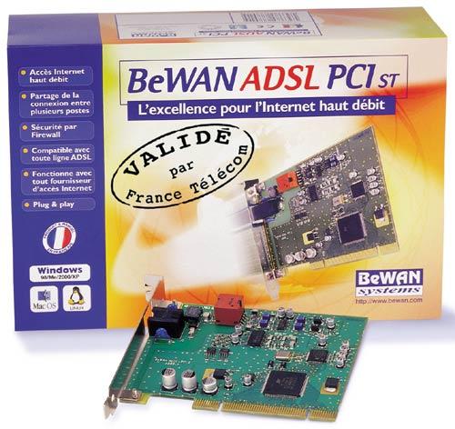 Bewan ADSL PCI/USB Driver