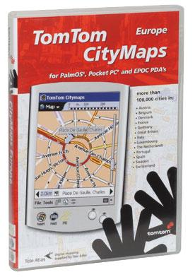 Pour PDA sous Palm OS (version inférieure à 5.0), EPOC 32, Pocket PC Inclus le plan de villes européennes; permet de planifier son itinéraire