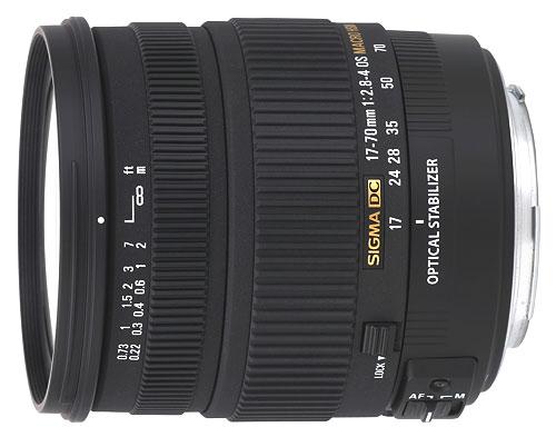 Sigma DC OS HSM 17 70 mm f28 40 Macro Monture Nikon