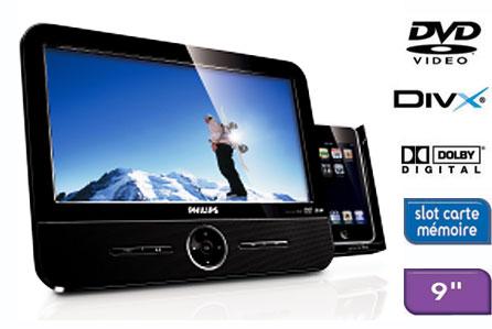 philips dcp951 lecteur dvd portable achat prix fnac