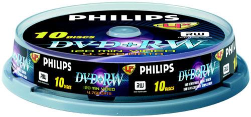 Philips DVD+R x 10