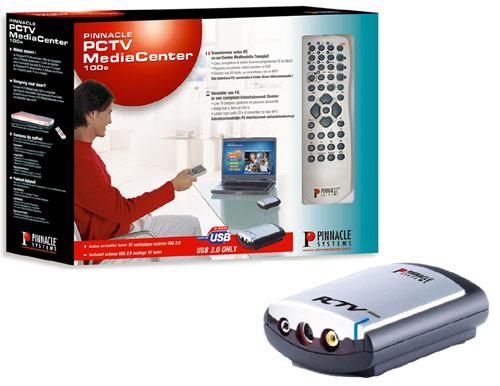 Pinnacle systems PCTV MediaCenter 100e Treiber Windows XP