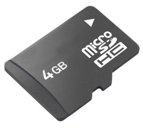 carte micro sd 4go Carte mémoire MicroSDHC 4 Go   Carte mémoire micro SD   Achat