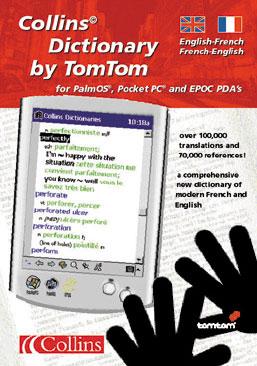 Pour PDA sous Palm OS, EPOC 32, Pocket PC Dictionnaire français-anglais