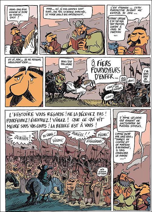 Une aventure rocambolesque de ... - tome 3 - Attila - Le fléau de Dieu (French Edition)